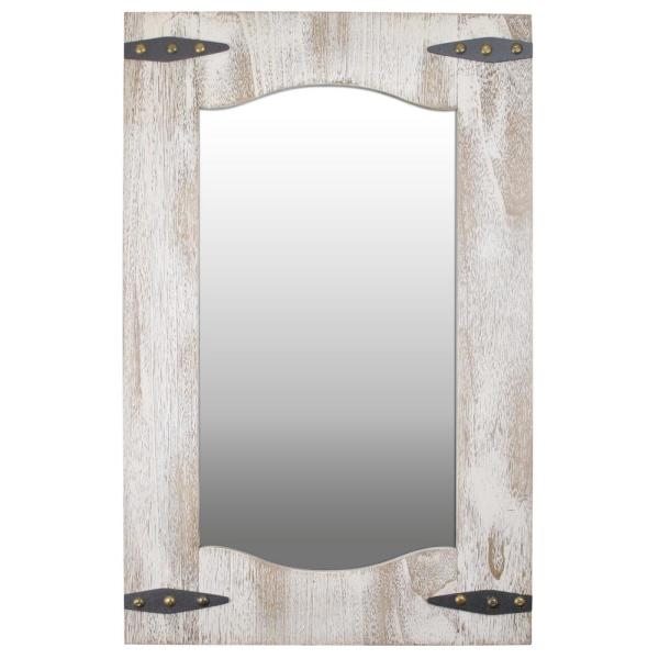 Firstime 33 5 In X 21 5 In Barn Door Wall Mirror 70000 The Home Depot