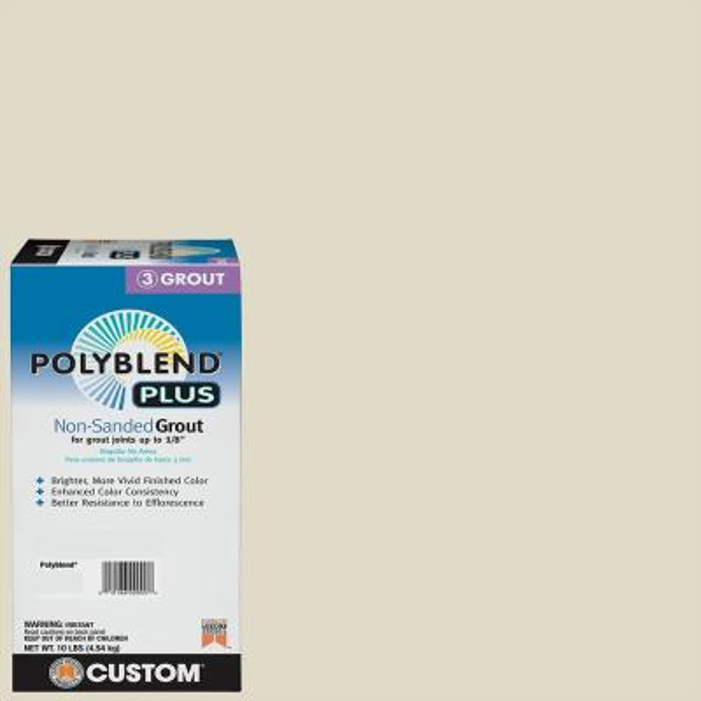 Polyblend Plus #333 Alabaster 10 lb. Non-Sanded Grout