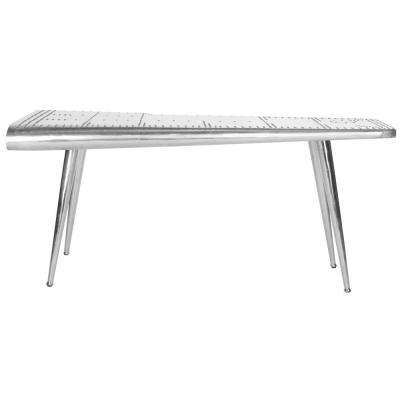 Aviator Silver Desk