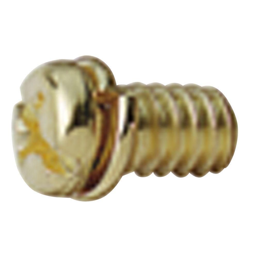 10 Piece Antique Brass Motor Screw Kit