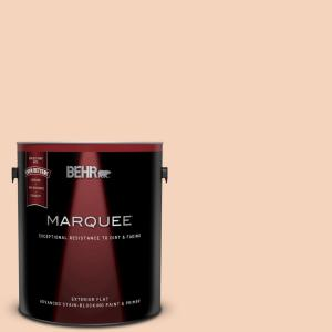 Behr Marquee 1 Gal Bxc 37 Miami Stucco Flat Exterior Paint And Primer In One 445001 The Home Depot
