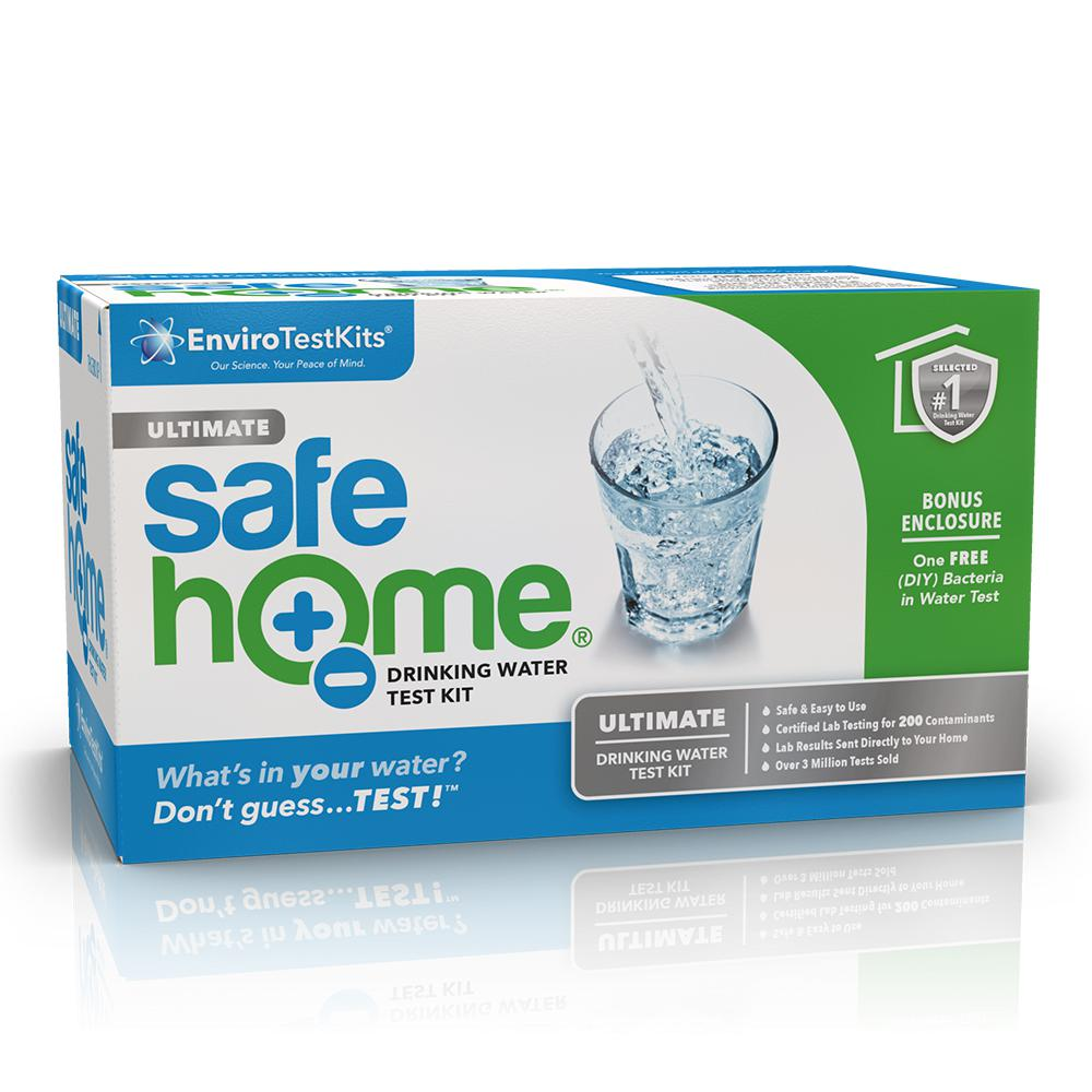 Safe Home Lab Tested Ultimate Drinking Water Test Kit