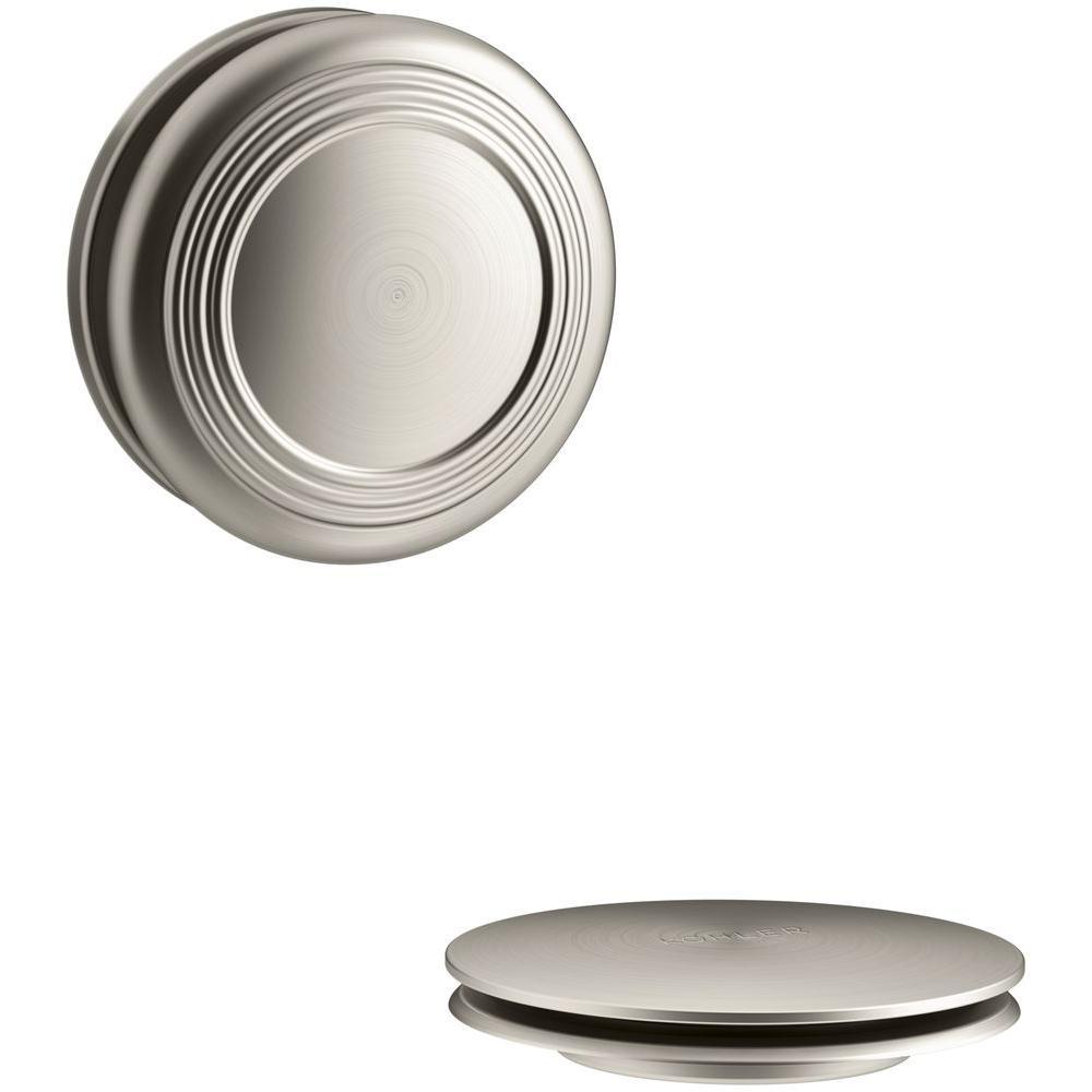 KOHLER PureFlo Bath Drain Trim, Vibrant Brushed Nickel