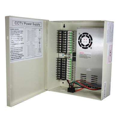 29 Amp 18-Port CCTV Power Box
