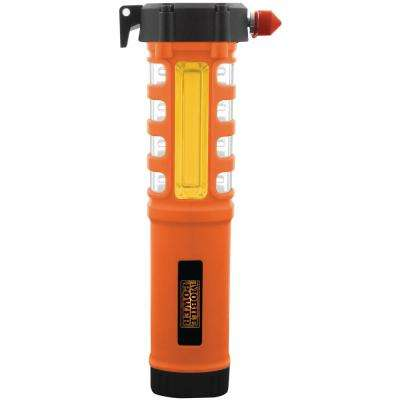 5-in-1 Safety Hammer Tool orange