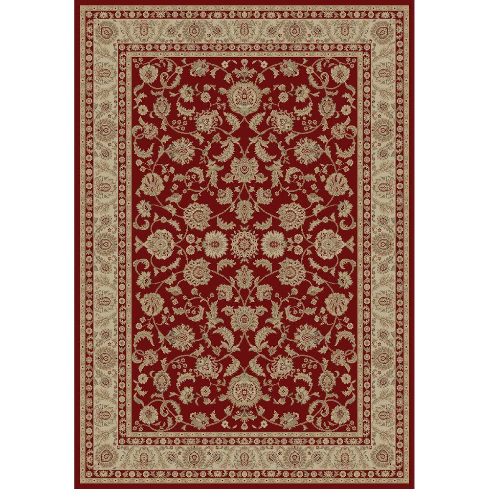 Imperial Bergama Red 7 ft. 10 in. x 10 ft. 10
