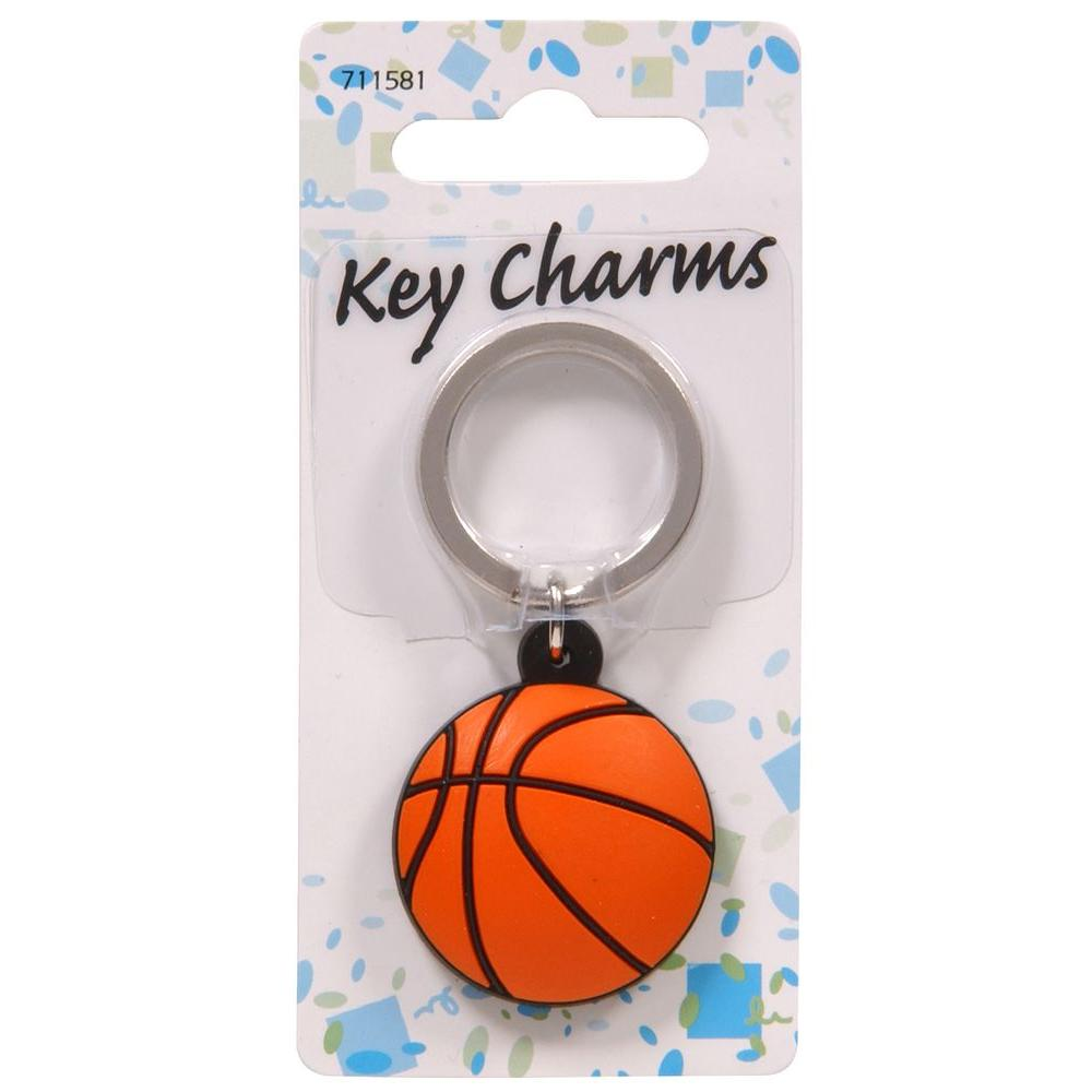 Basketball Key Chain (3-Pack)