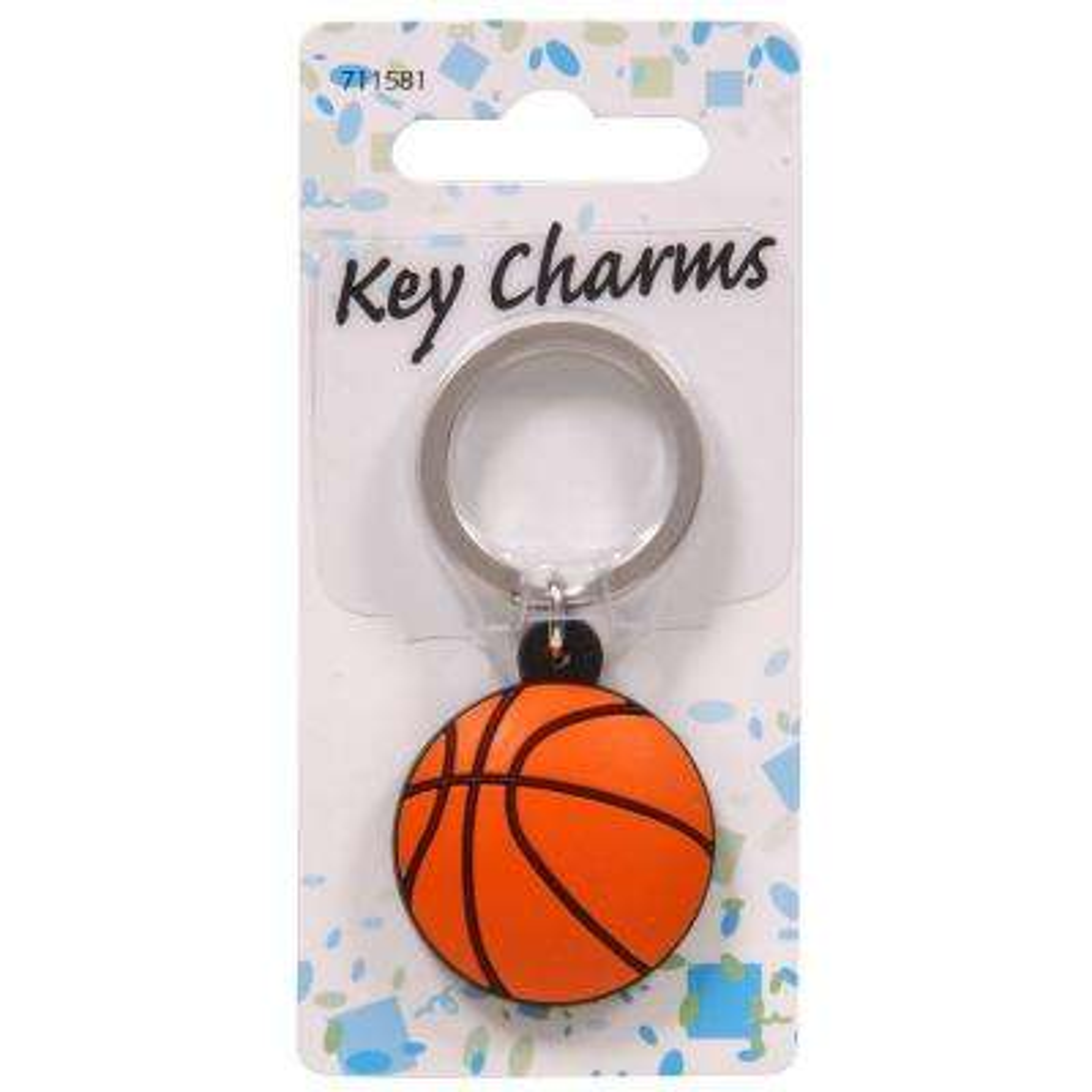 Basketball Key Chain (3-Pack)