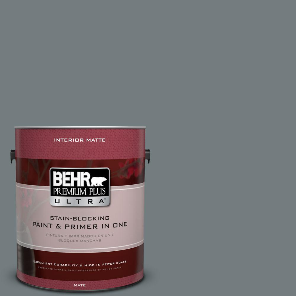 1 gal. #720F-5 Hidden Peak Flat/Matte Interior Paint