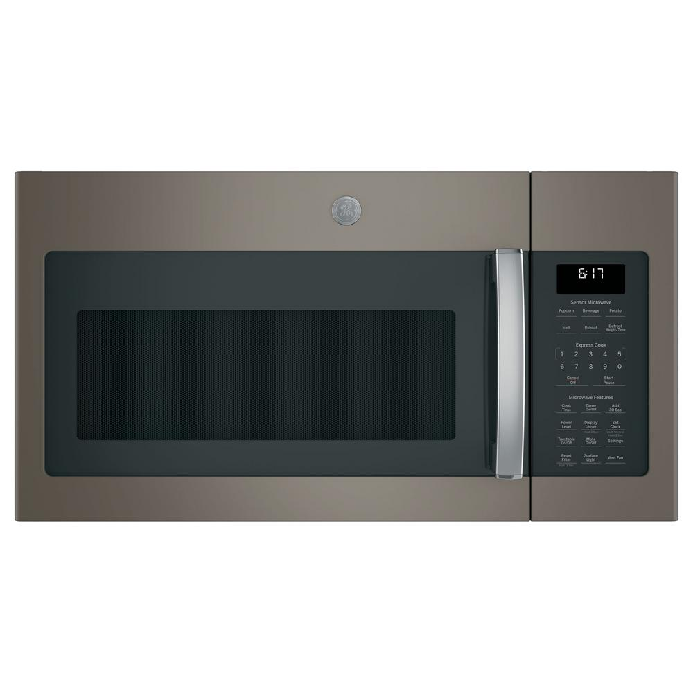Ge 1 7 Cu Ft Over The Range Microwave With Sensor