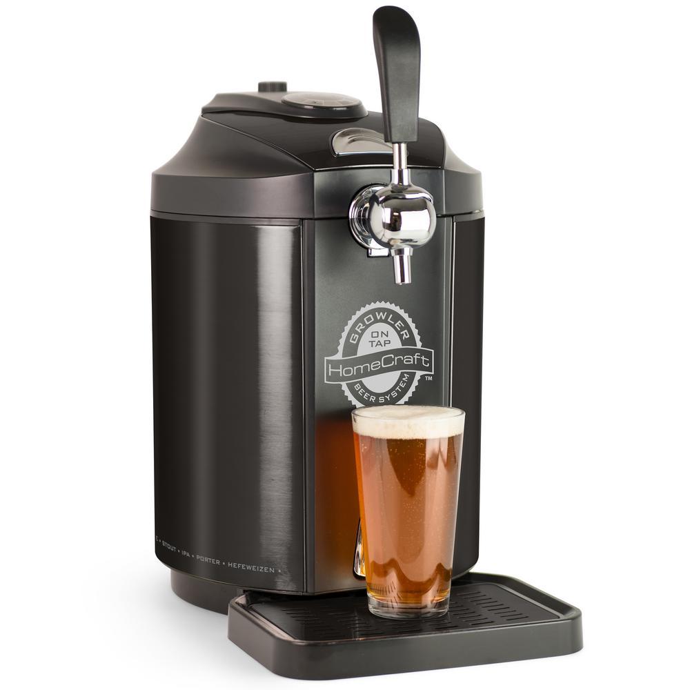 Single Tap 5L Kegerator Beer Growler