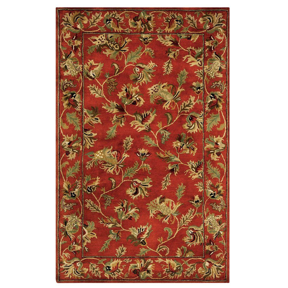 Home Decorators Collection Governor Rust 4 ft. x 6 ft. Area Rug