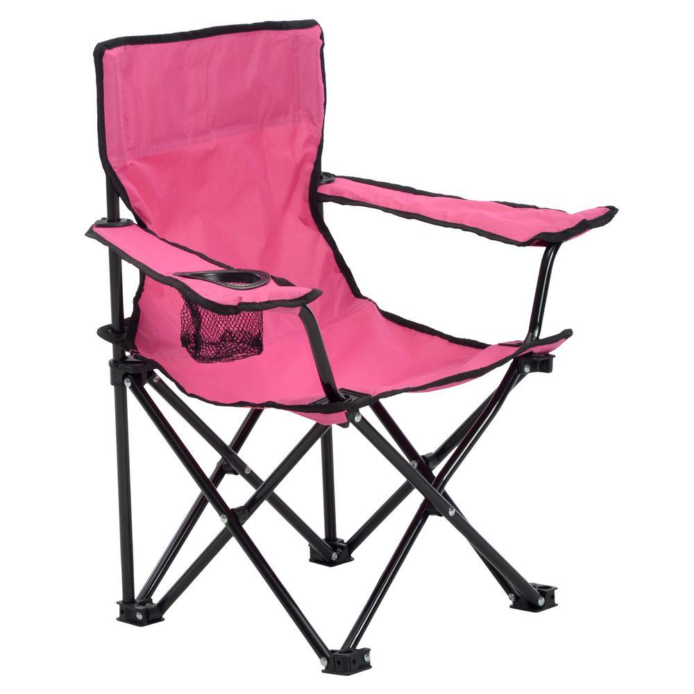 Quik Shade Pink Kid's Folding Chair