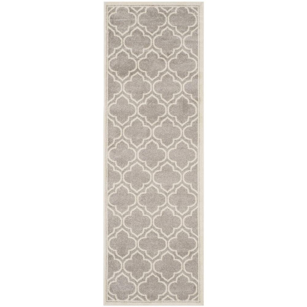 Safavieh Amherst Light Gray/Ivory 2 ft. 3 in. x 7 ft. Indoor ...