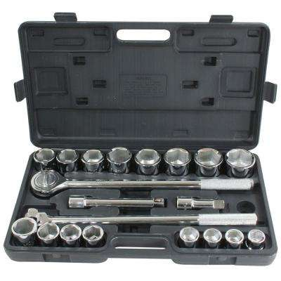 3/4 in. Drive Socket Set (21-Piece)
