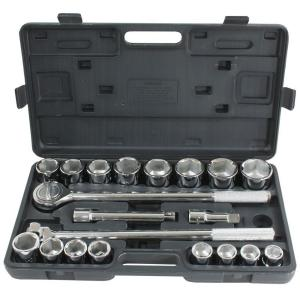 PRO-SERIES 3/4 inch Drive Socket Set (21-Piece) by PRO-SERIES