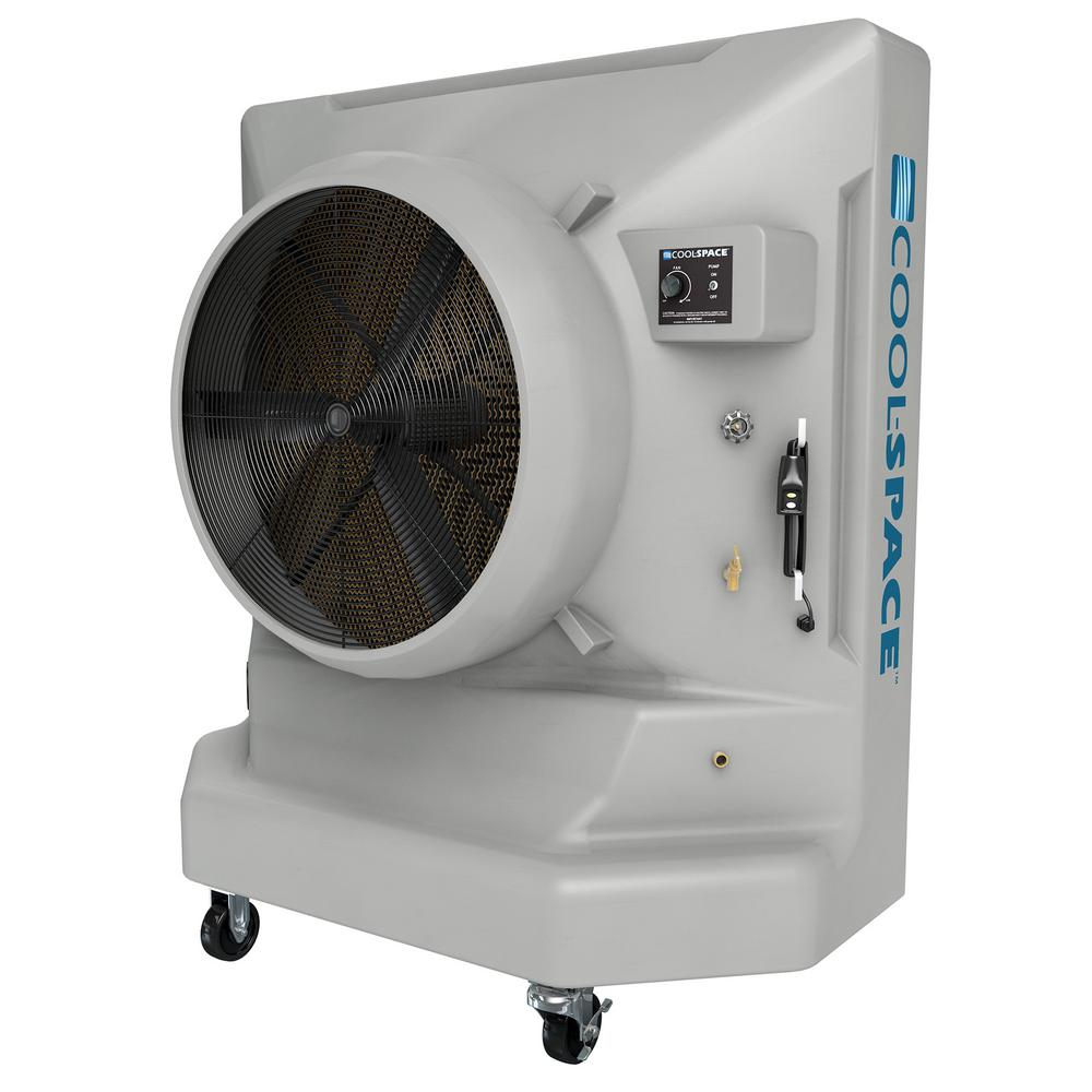 AVALANCHE-36-VD 9700 CFM 12-Speed Portable Evaporative Cooler for 3600 sq. ft.