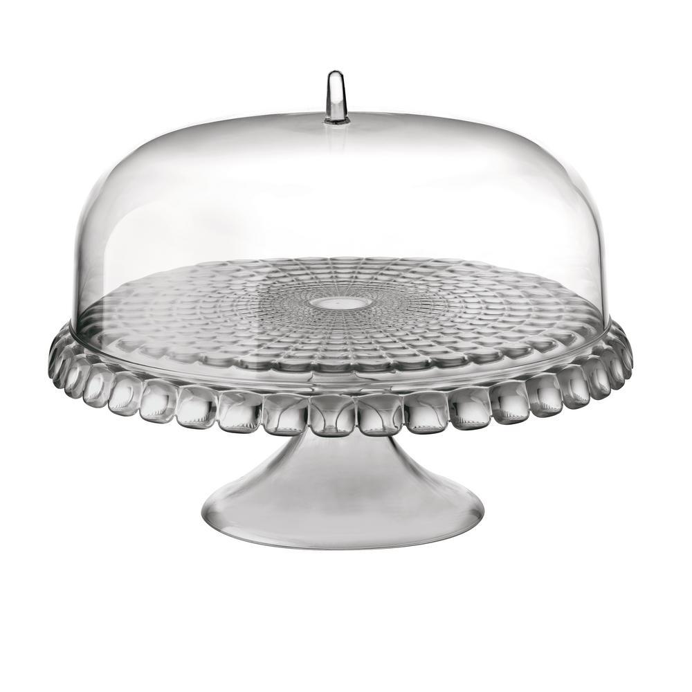 Tiffany Dome Sky Grey Cake Stand
