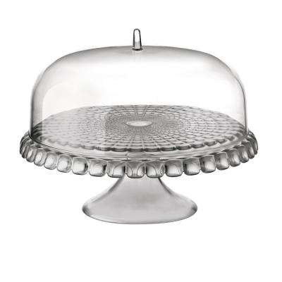 Tiffany Dome Sky Grey Cake Stand