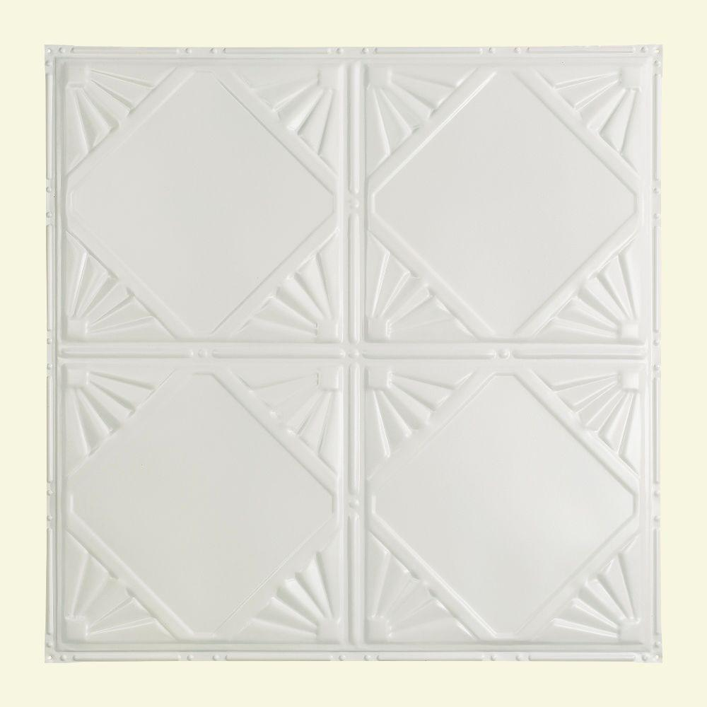 Nail up tin ceiling tiles