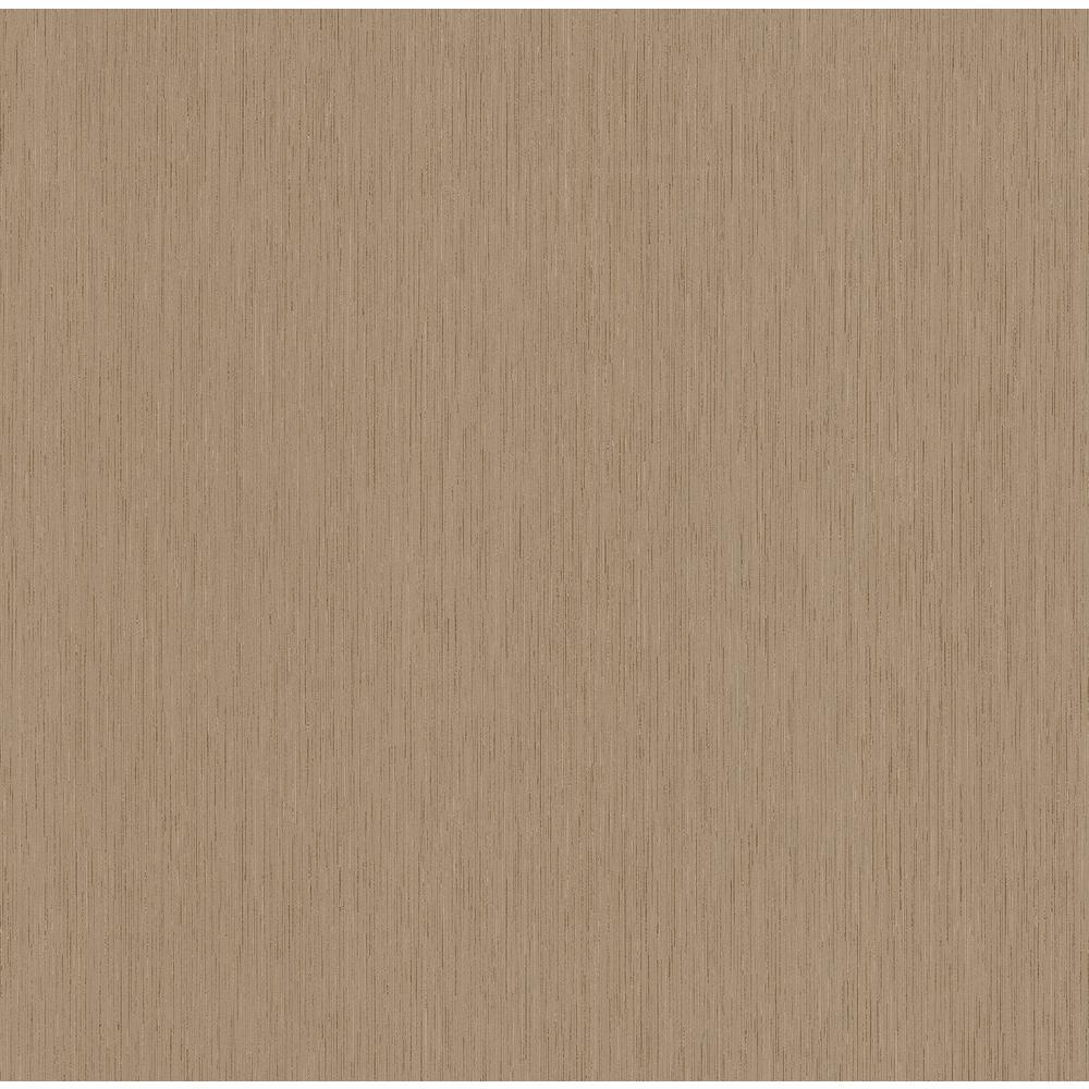 Goodman Light Brown Distressed Striped Texture Wallpaper