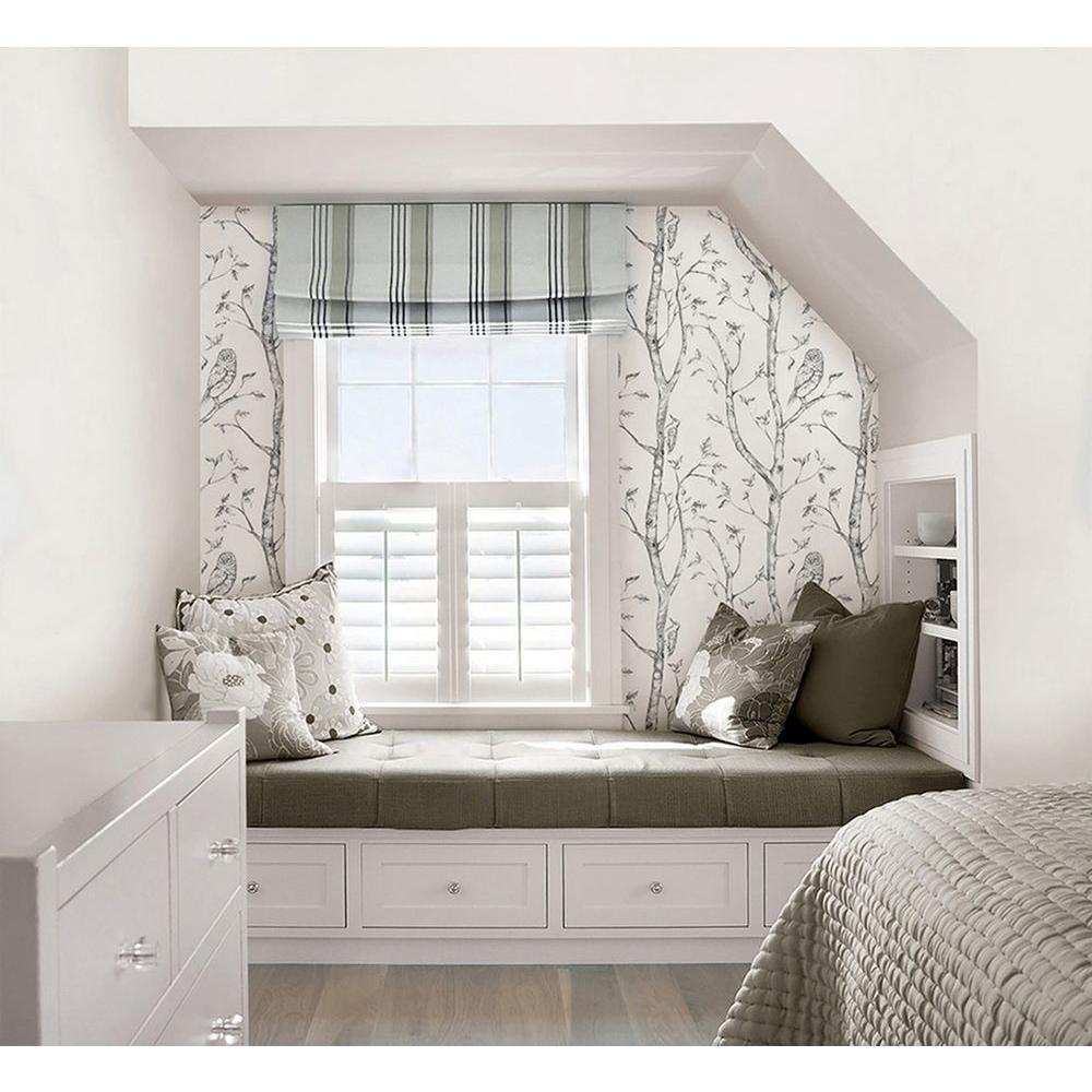 NuWallpaper Grey Woods Peel and Stick Wallpaper Sample ...