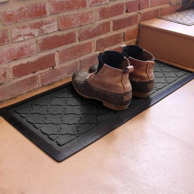 Cordova 15 in. x 36 in. Boot Tray Charcoal