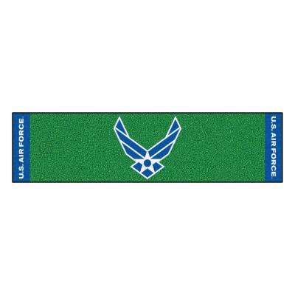 MIL - U.S. Air Force Green 1 ft. 6 in. x 6 ft. Indoor/Outdoor Golf Practice Putting Green
