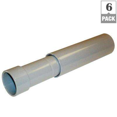 1 in. Schedule 40 and 80 PVC Expansion Coupling (Case of 6)