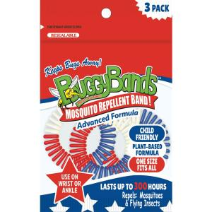 BuggyBands Mosquito Repellent Bracelet (3-Pack)-MF3030 - The Home Depot