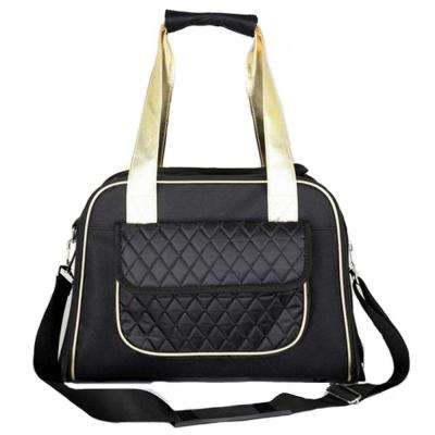 Black Airline Approved Mystique Fashion Pet Carrier - Medium