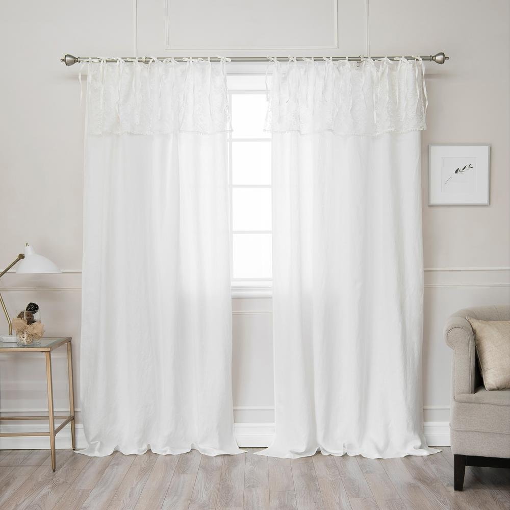 style puddled tie finishing cover to top how ways drapes the tips touch tiny blog curtains video