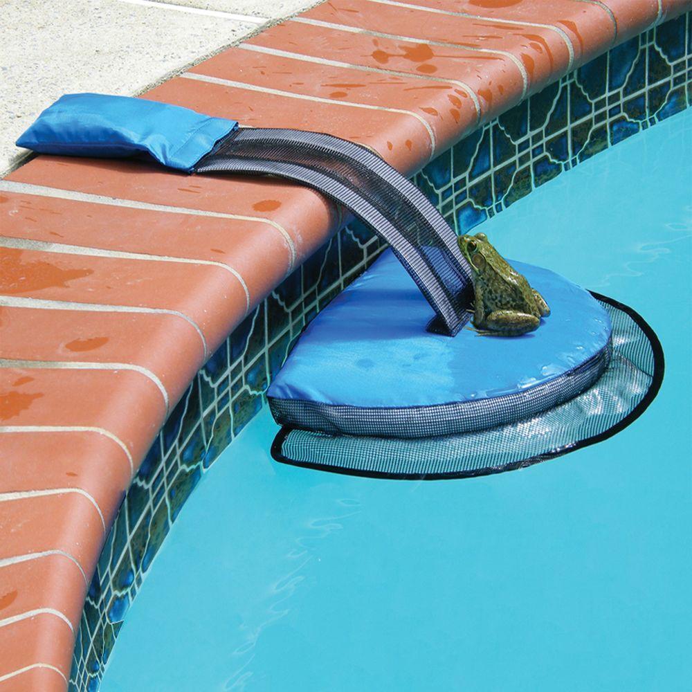 Swimline Pool Critter Escape Ramp Na4554 The Home Depot