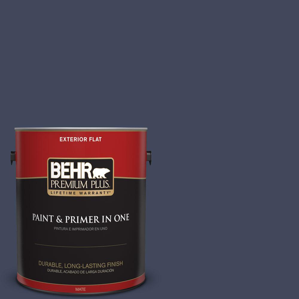 S530 7 Dark Navy Flat Exterior Paint And