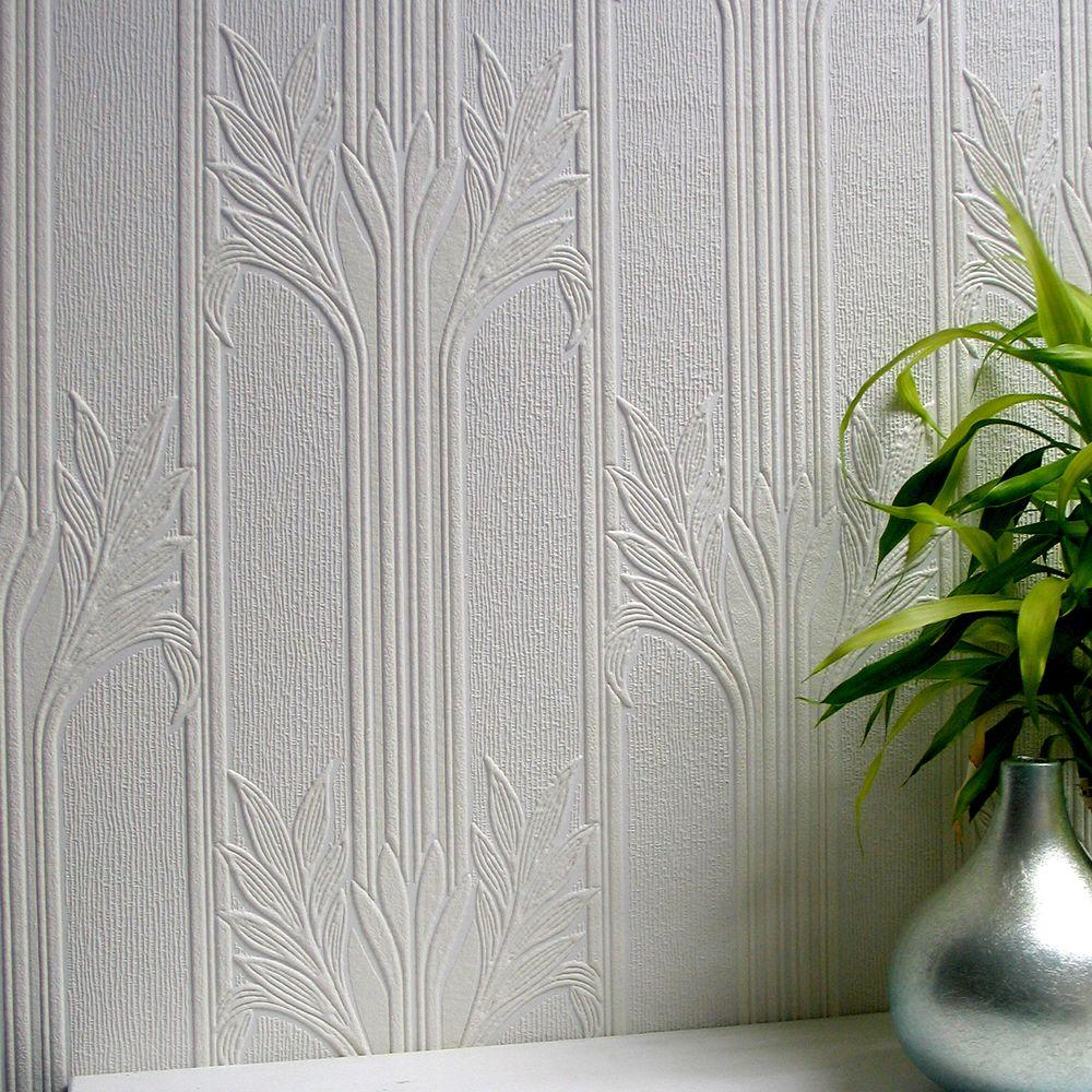 Good Wildacre Paintable Textured Vinyl Wallpaper