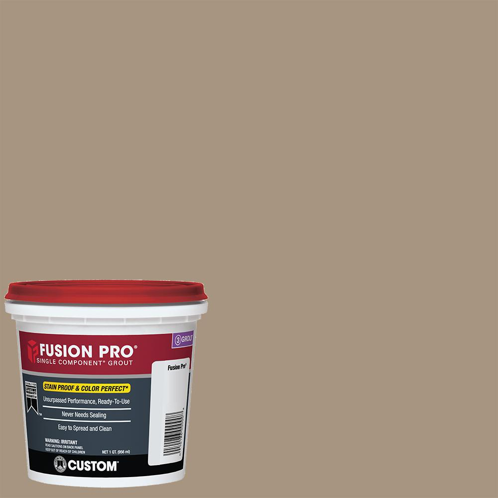 Fusion Pro #145 Light Smoke 1 qt. Single Component Grout
