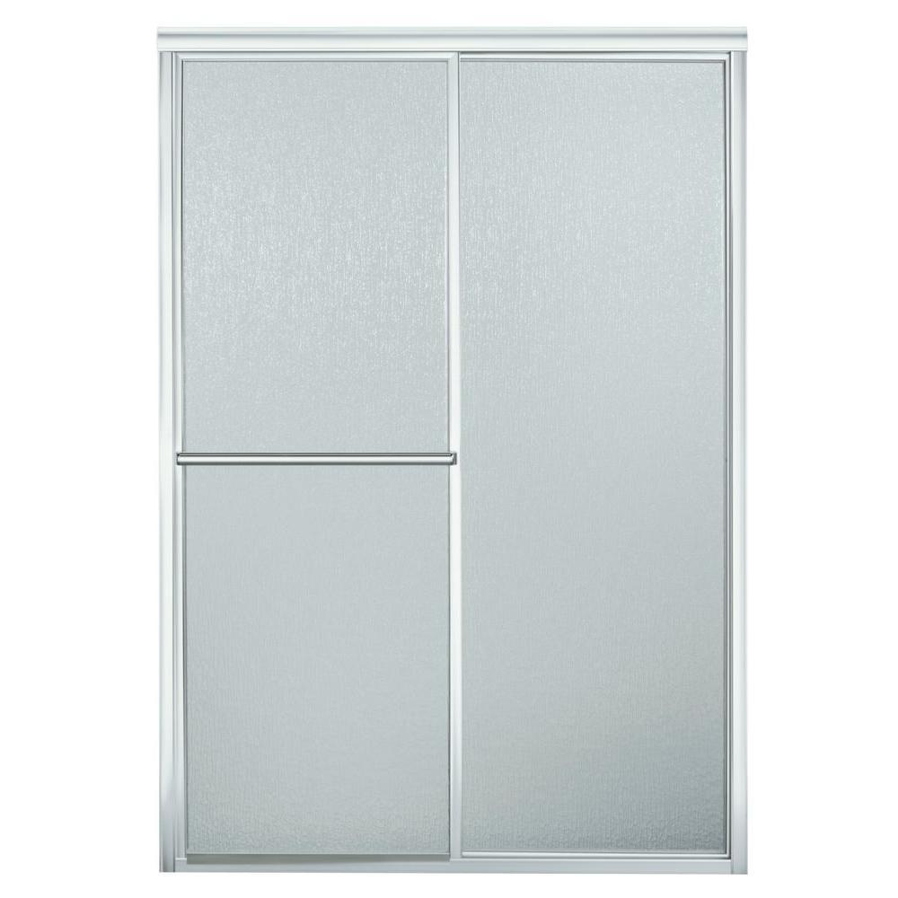 Sterling Deluxe 46 In X 65 12 In Framed Sliding Shower Door In