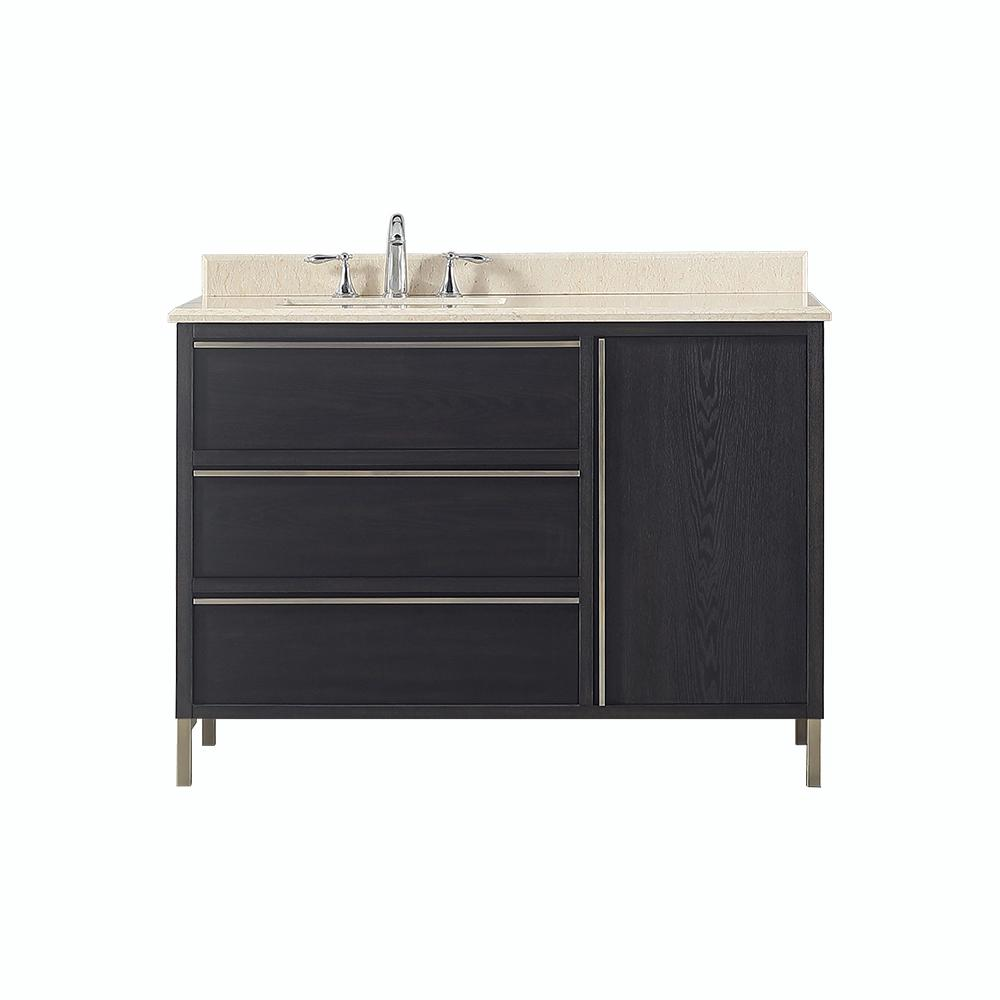 Westcourt 48 in. W x 22 in. D Vanity in Authentic
