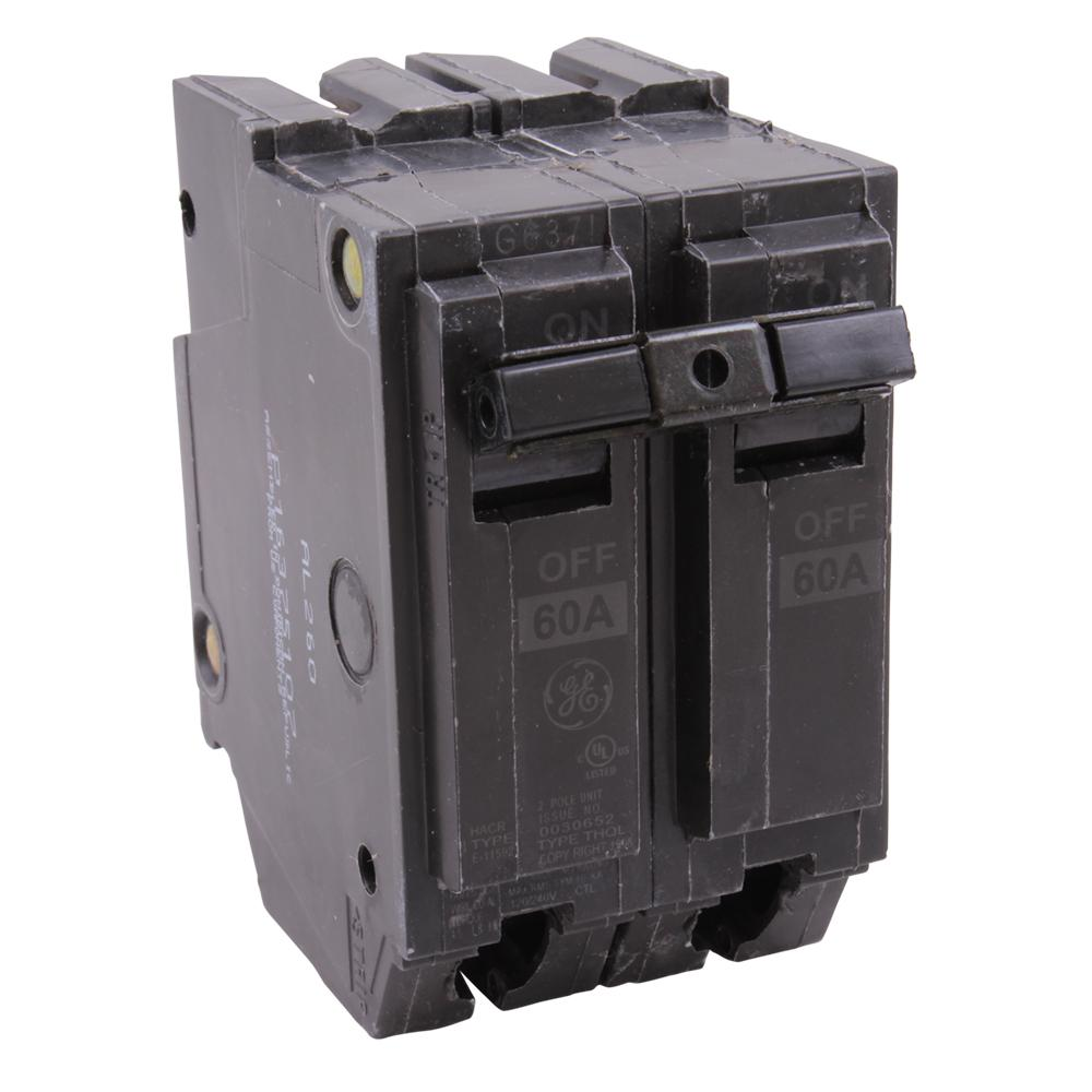General Switch Co 50 amp Double Pole  Circuit Breaker