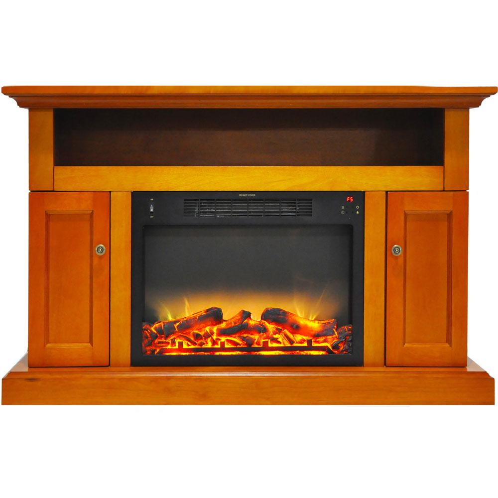 Sorrento Electric Fireplace with an Enhanced Log Display and 47 in.