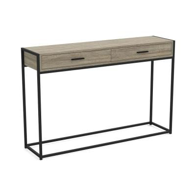 Cozy Home Dark Taupe Console Table