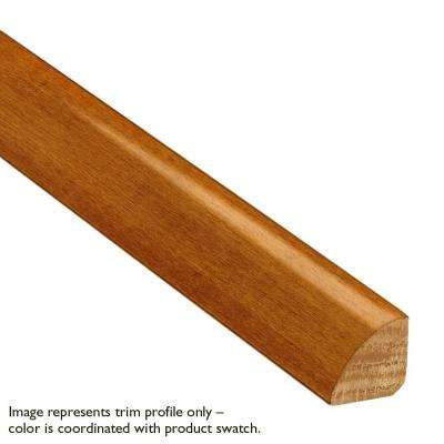 Vintage Brown Walnut Artesian Classics 3/4 in. Thick x 3/4 in. Wide x 78 in. Length Quarter Round Molding