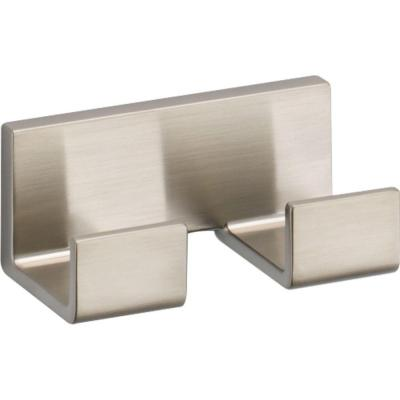 Vero Double Towel Hook in Brilliance Stainless