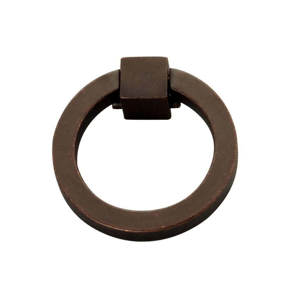 Camarilla 2-1/16 inch Dark Antique Copper Ring Pull