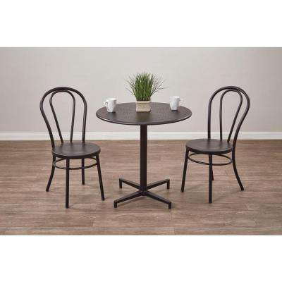 Oxton Matte Black Folding Table