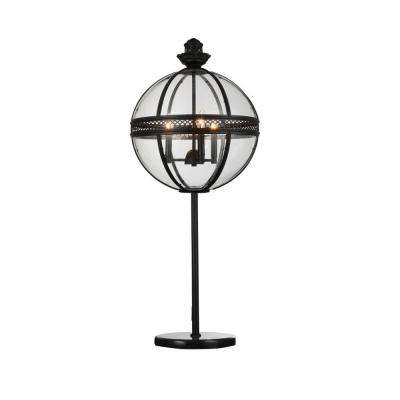 Lune 32 in. Black Table Lamp