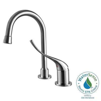 Light Commercial Collection 1-Handle Bathroom Faucet in Chrome