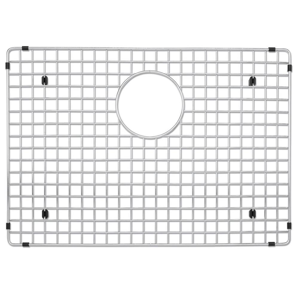 Stainless Steel Sink Grid for Quatrus R0 Medium Single ADA