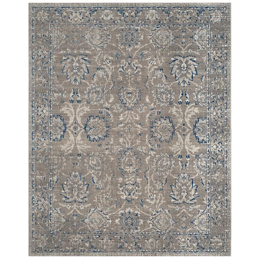 Artisan Dark Gray/Blue 8 ft. x 10 ft. Area Rug