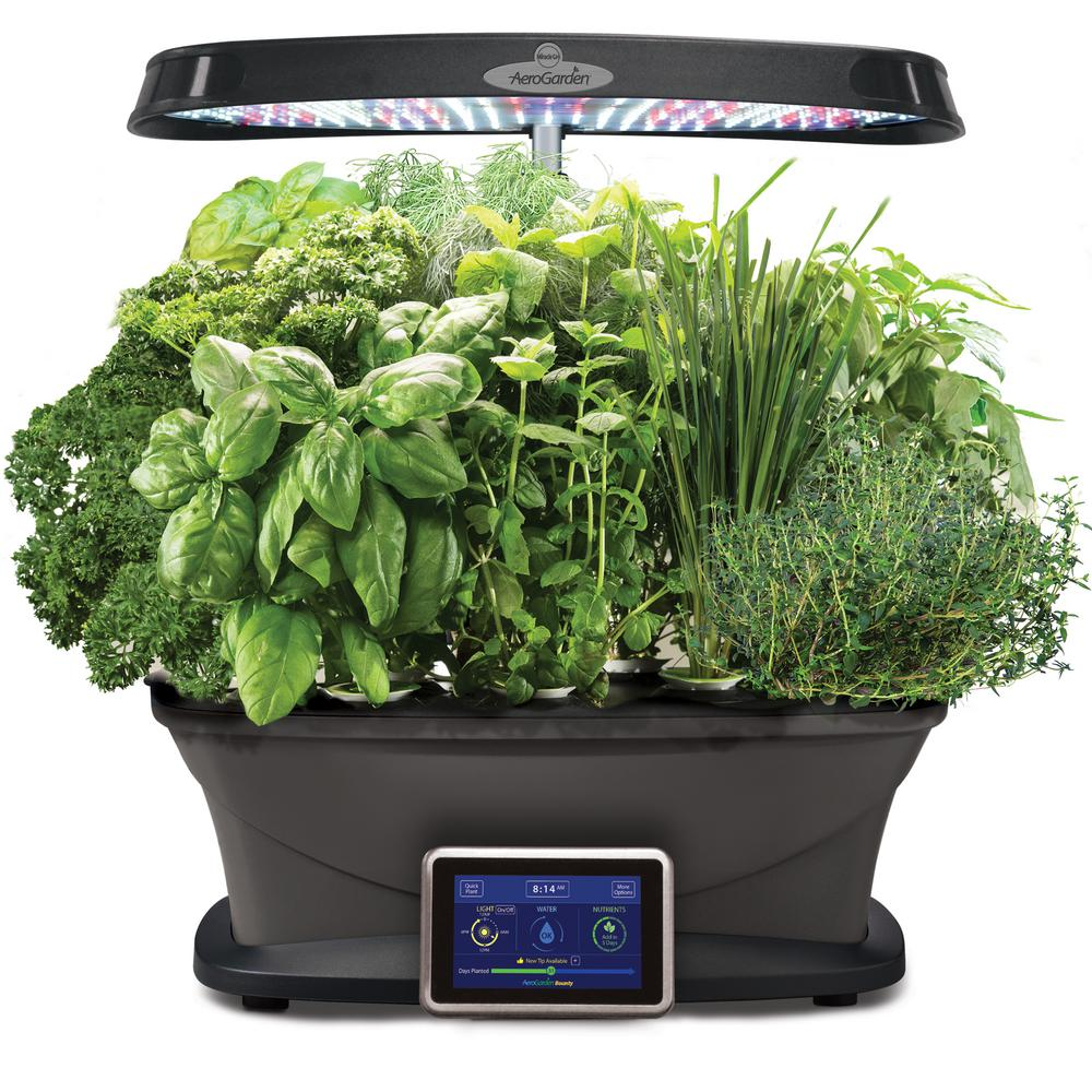 High Quality Miracle Gro AeroGarden Bounty With Gourmet Herb Seed Pod Kit